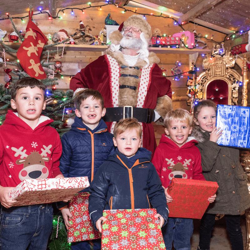 Best Places To Visit Santa In Kent